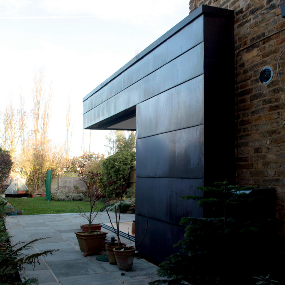 modern contemporary architect kingston upon thames copper cladding