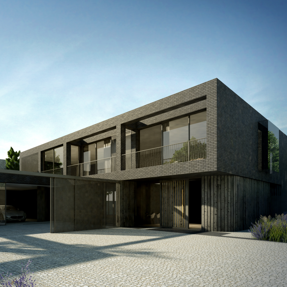 sandown esher house modern architect riba surrey