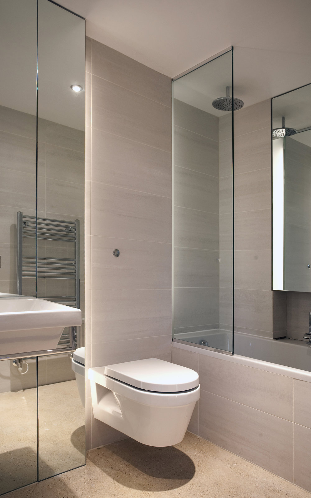 Modern Contemporary Architect House Wimbledon London Bathroom Fitout