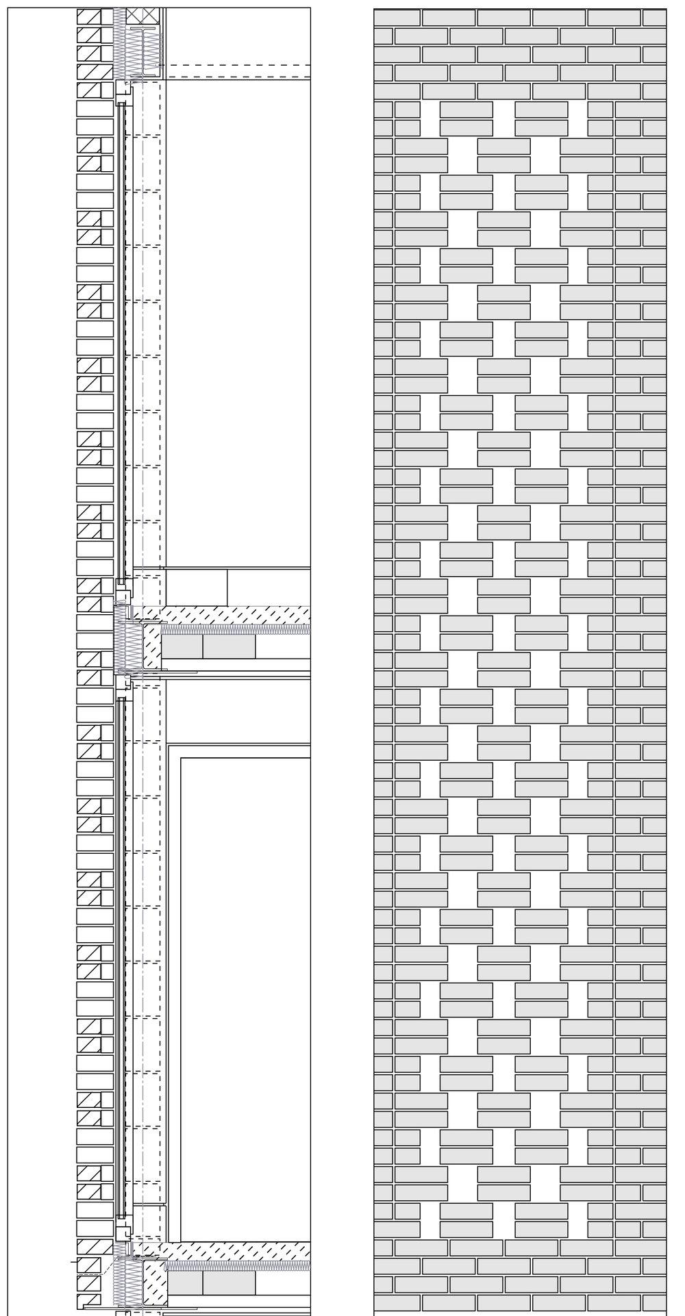 Modern Contemporary Architect House Wimbledon London Detail Brickwork