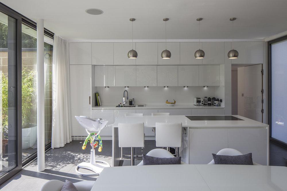 Modern Contemporary Architect Esher Surrey House Site Plan Pavilion Mies Van Der Rohe
