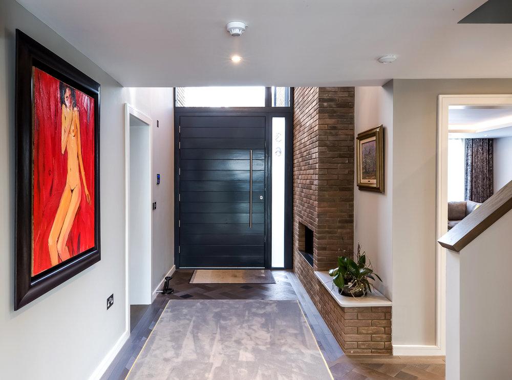 cobham architect, fletcher crane, modern contemporary house
