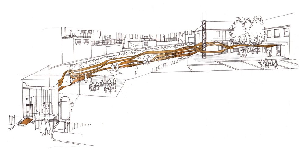 Contemporary architecture, Fletcher Crane Architect, Frog Capital, Kings Cross, St Pancras, London