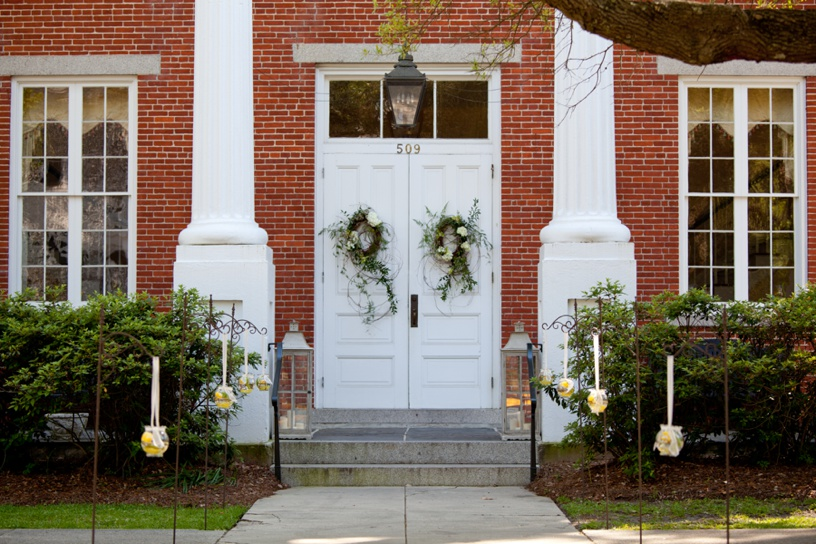 Winyah Indigo Hall - entry