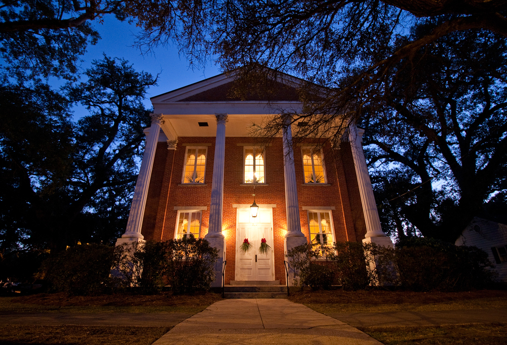 Winyah Indigo Hall at Night