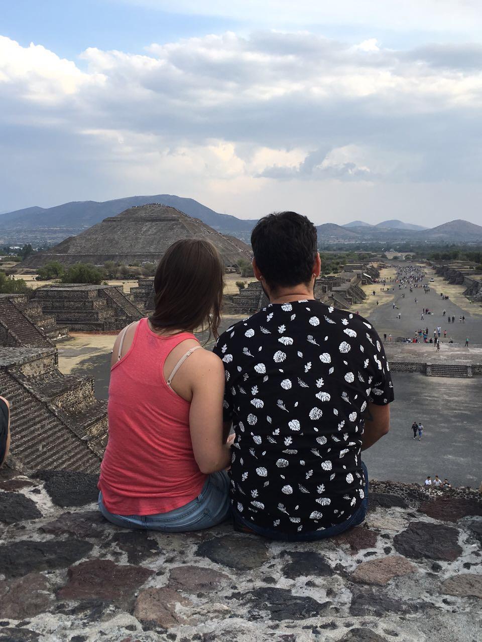 Teotihuacán, México. Agosto 2017