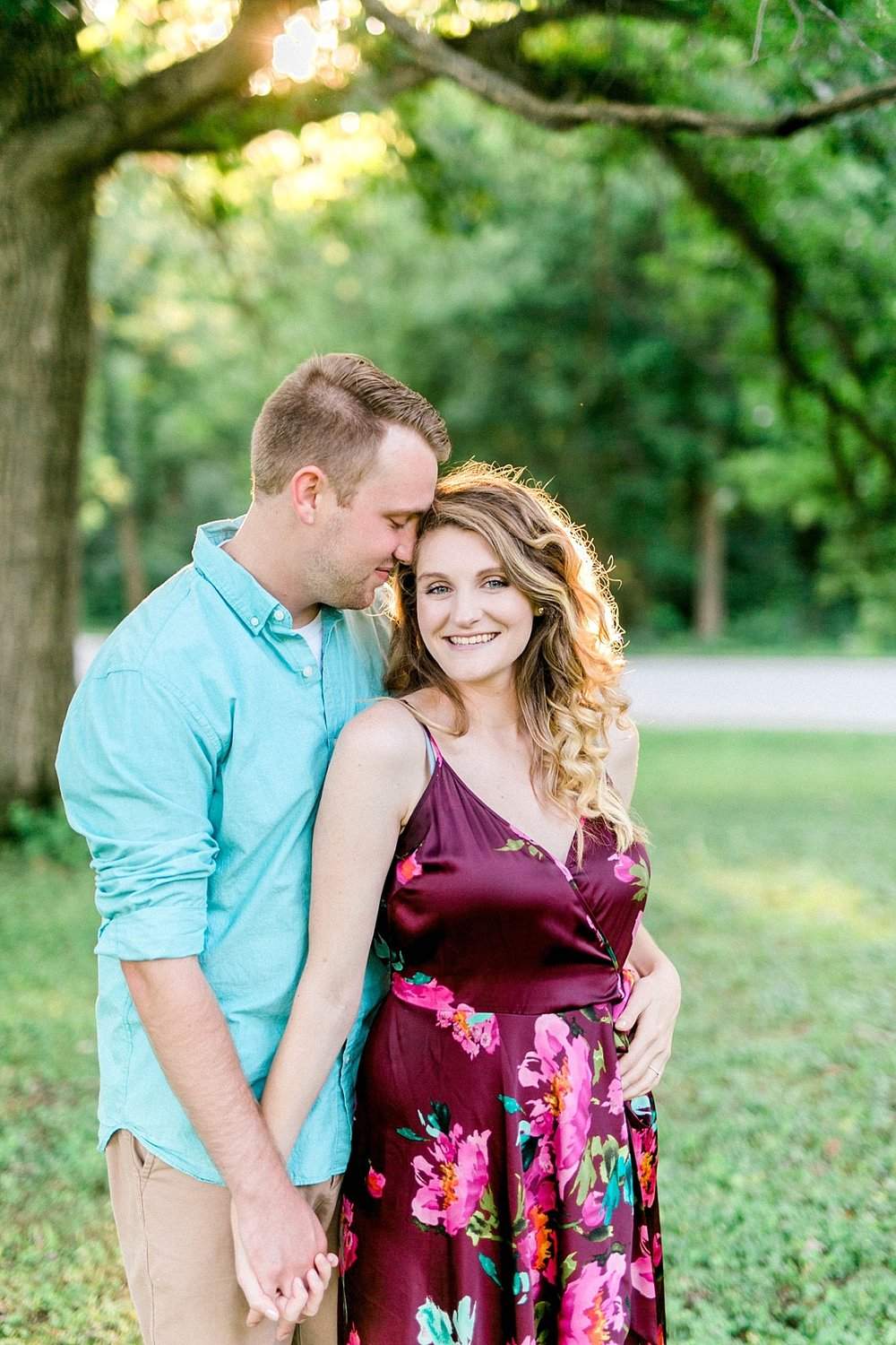 bettendorf engagement session