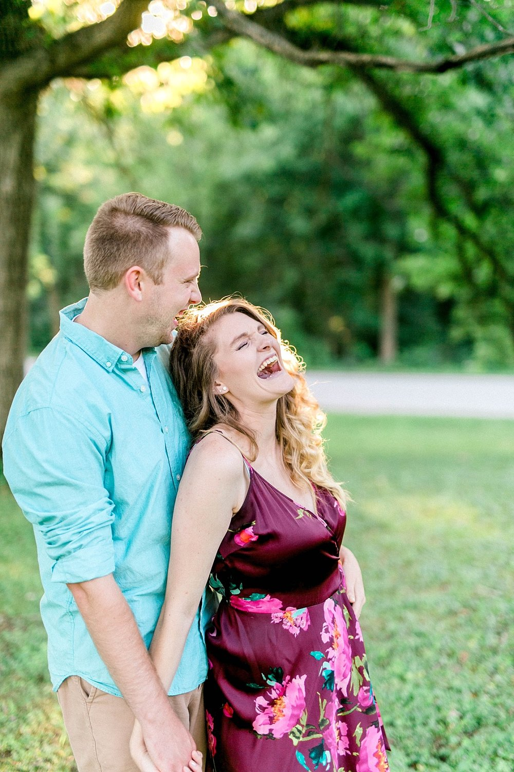 candid engagement session quad cities