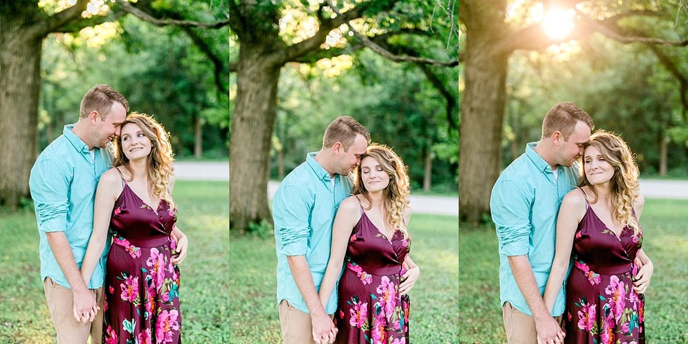 quad cities anniversary couples session