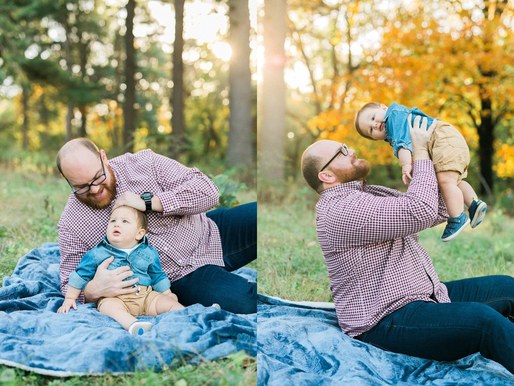 quad cities fall family photos