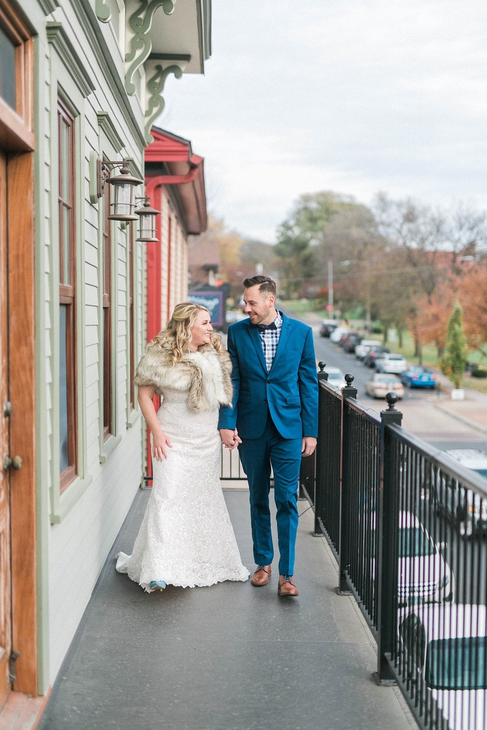 village of east davenport wedding