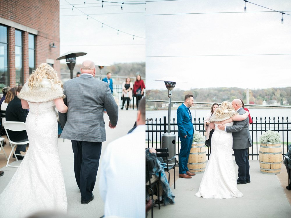 mississippi river distillery wedding venue