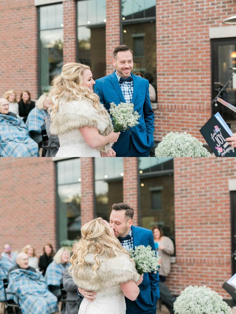 quad cities outdoor wedding ceremony