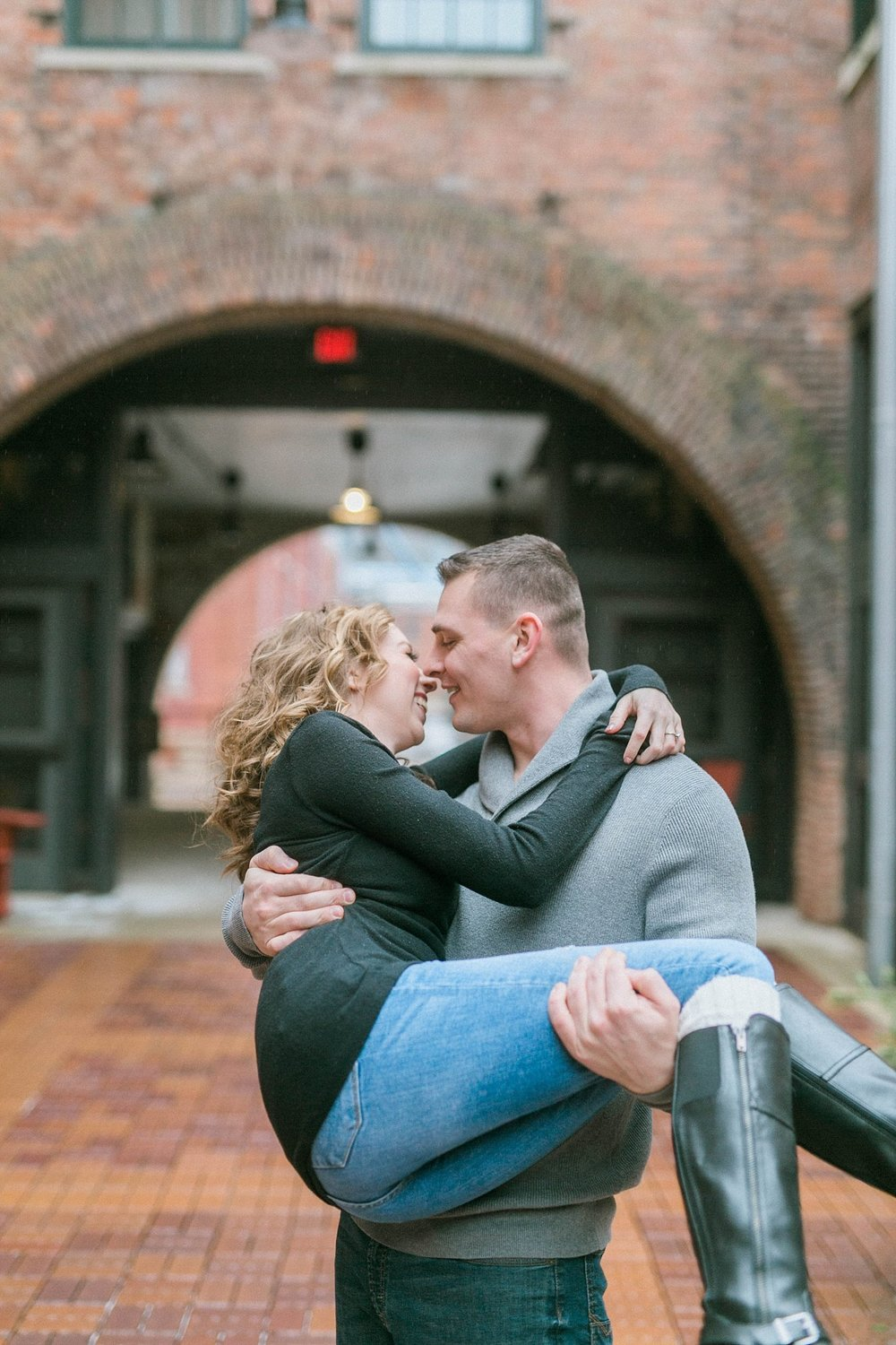 Milltown District Engagement Photography