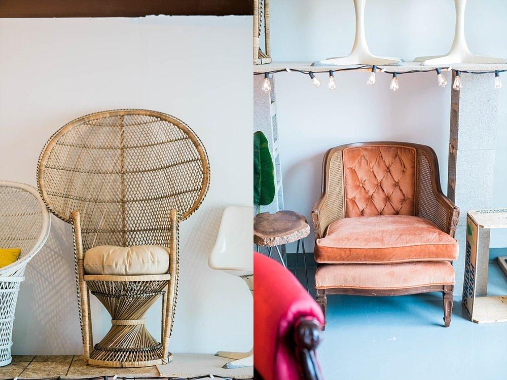 Madison wedding rental furniture