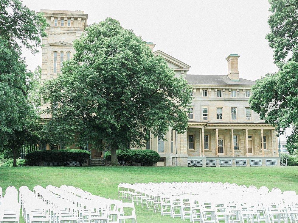 Quarters One Mansion Wedding Quad Cities