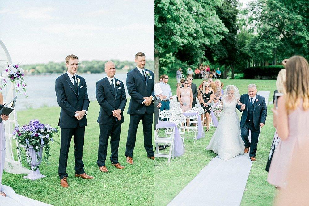 Quarters One Wedding ceremony