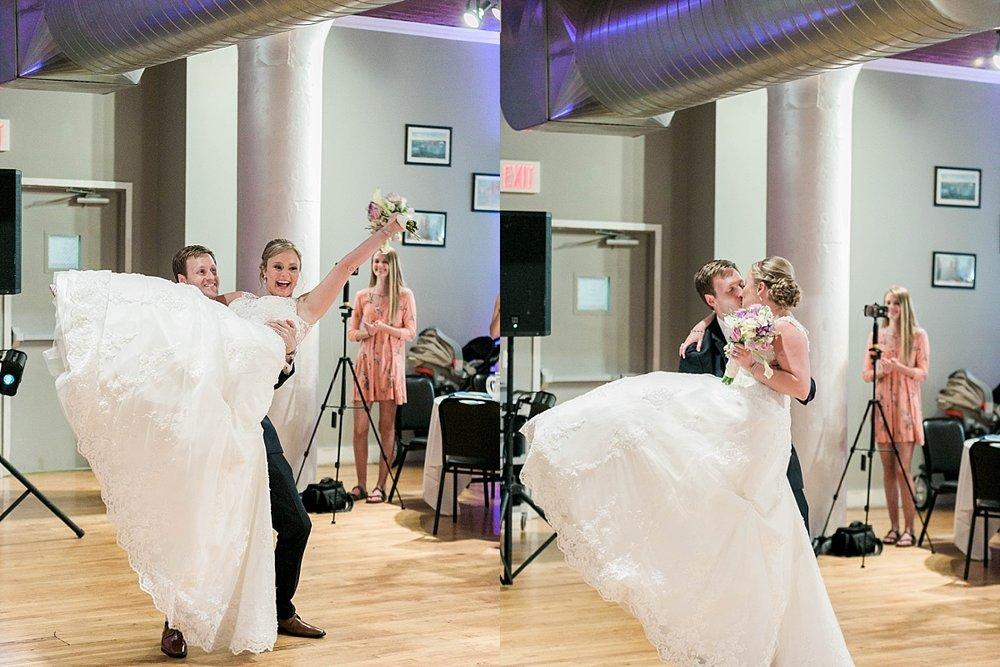 The university club wedding reception
