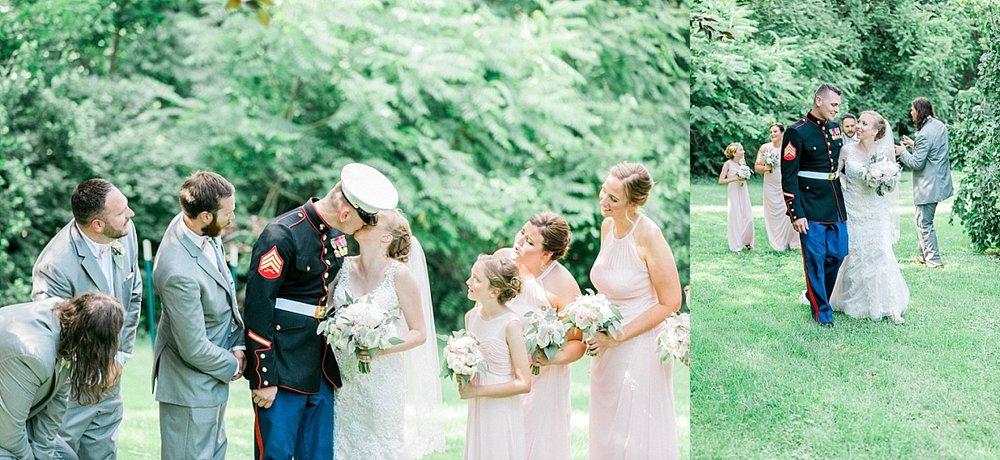 Madison wedding ceremony
