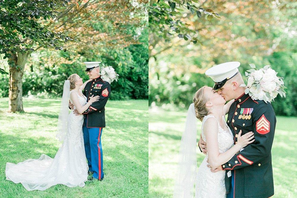 Wisconsin marine wedding