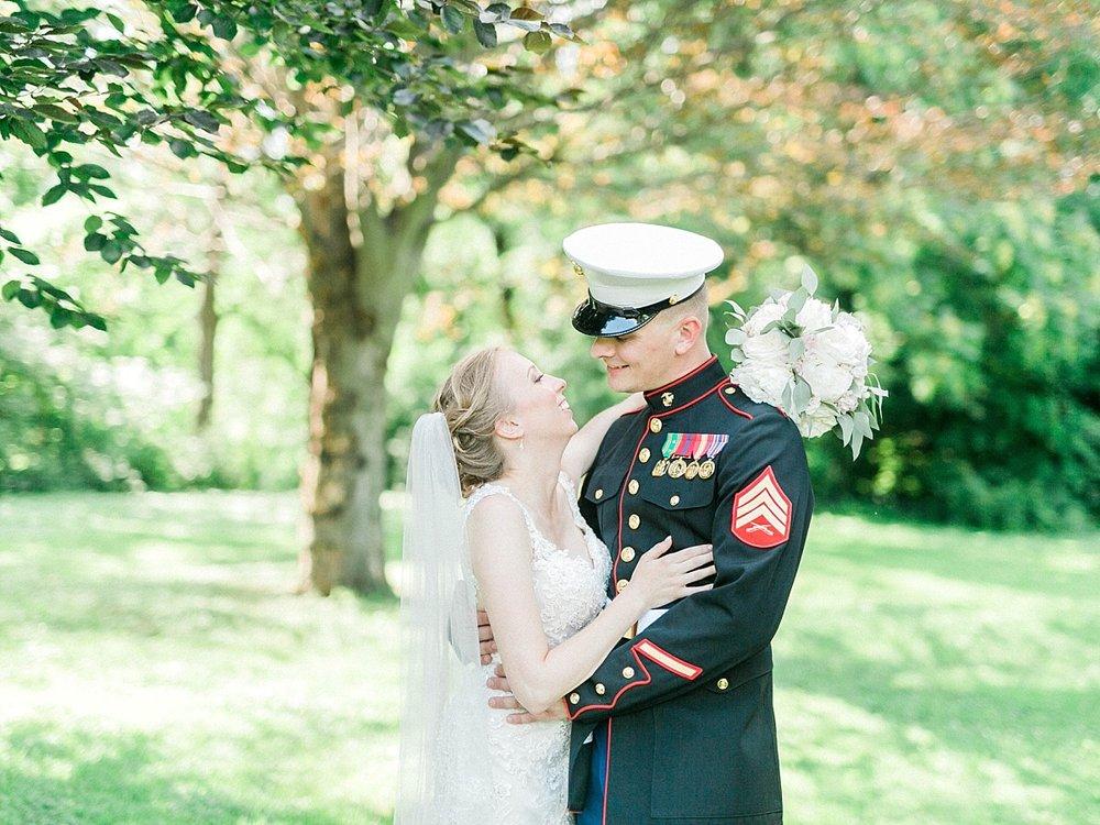 Madison marine wedding