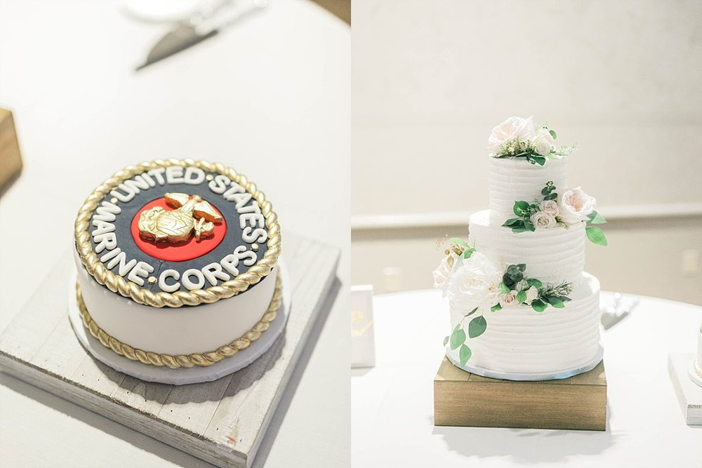 halleys cupcakery quad cities wedding cake