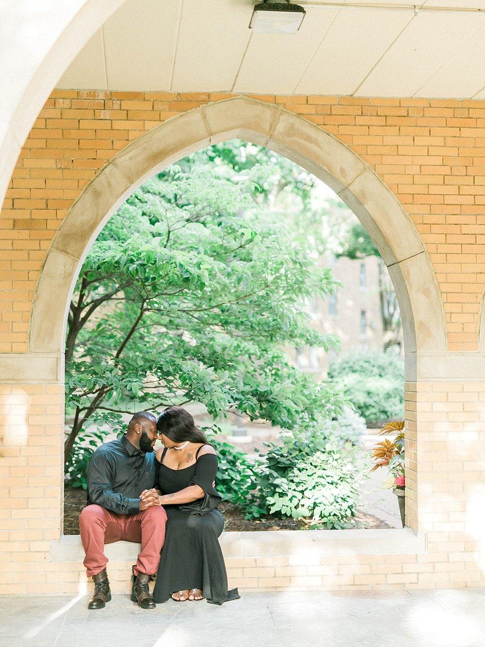 Madison summer engagement