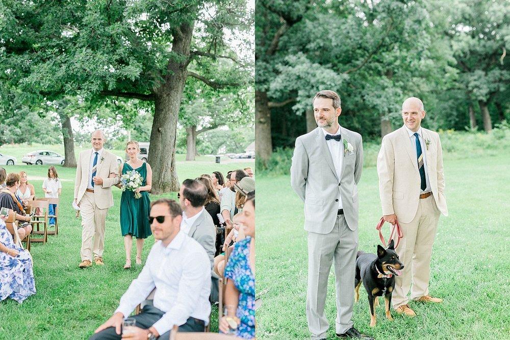 Madison Outdoor Wedding Ceremony