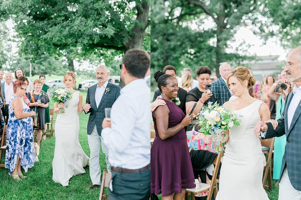 Olin Park Wedding Ceremony
