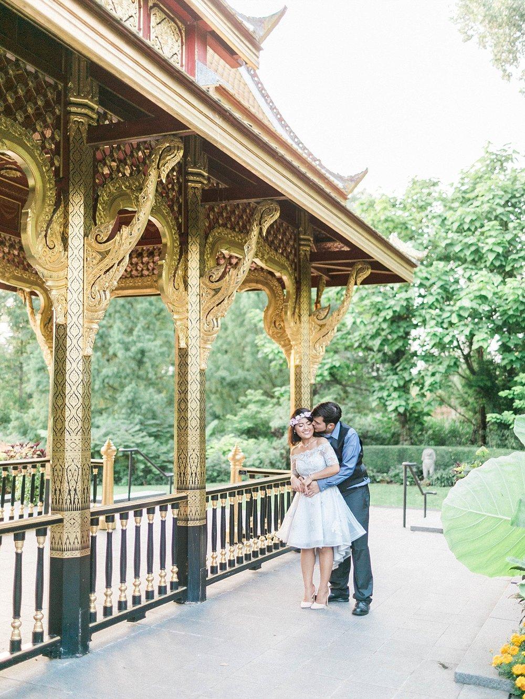 Thai Pavillion Engagement Olbrich Gardens