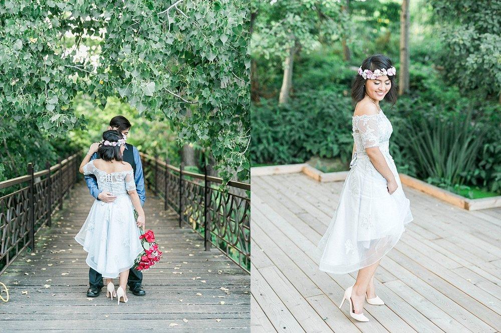 Olbrich Garden Wedding in Madison, WI