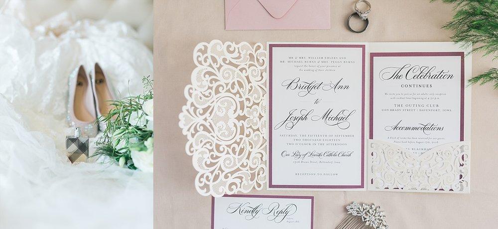 noted design wedding invitations