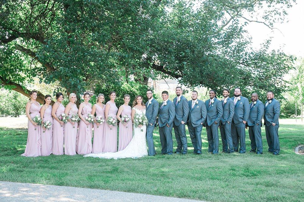 the outing club wedding davenport iowa