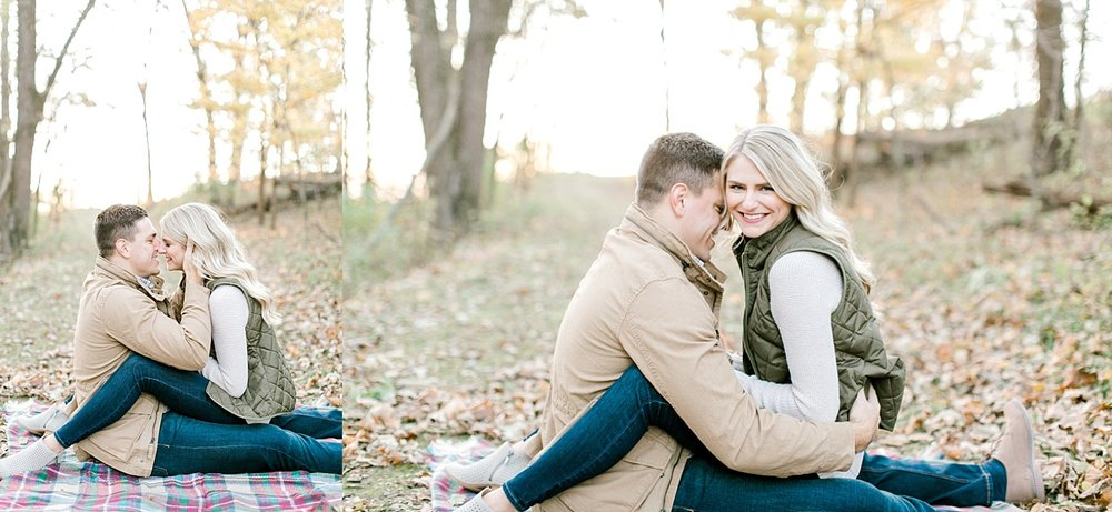 Chestnut Ridge Engagement Session Galena