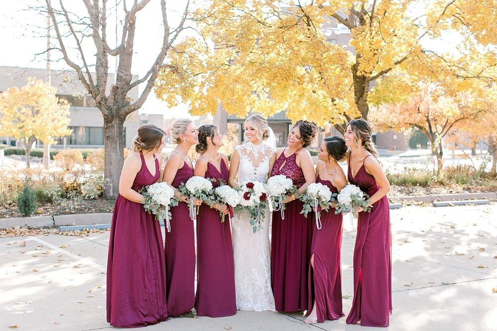 Madison fall wedding