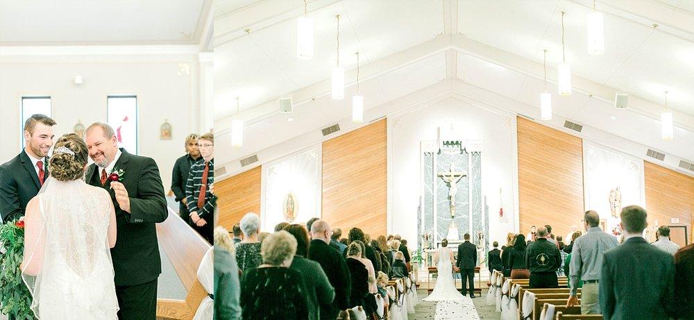 St. patrick church madison wedding
