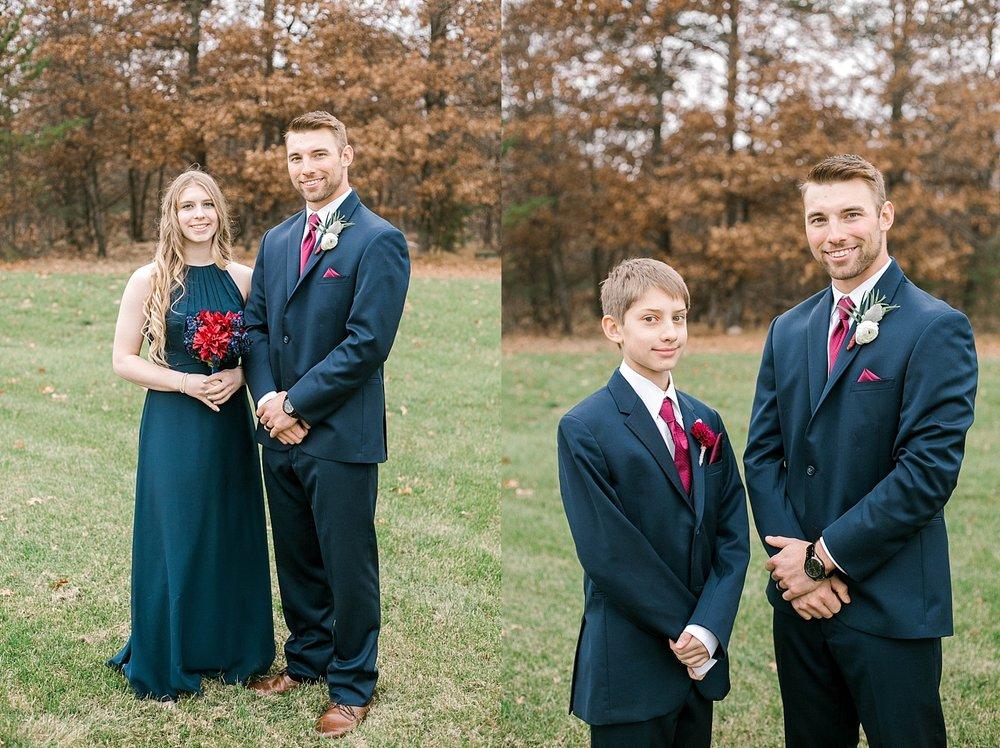 Necedah professional wedding photography