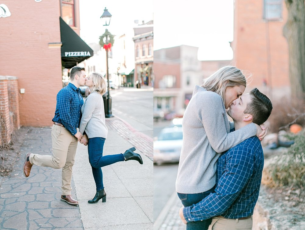 galena, il engagement photography