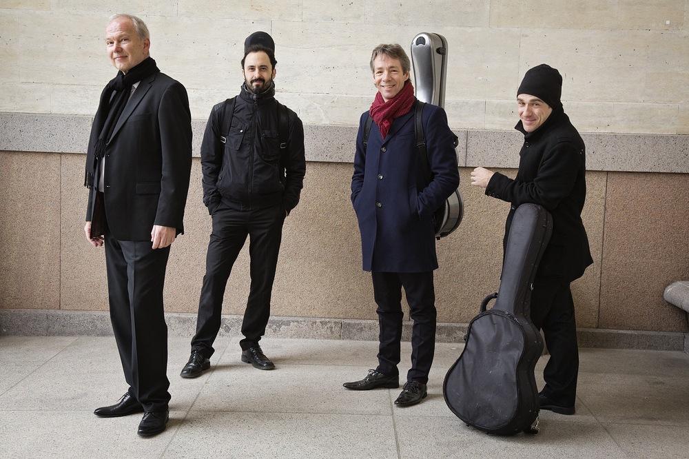 Trio Sanza with tenor Visti Hald. Photo Suzanne Mertz