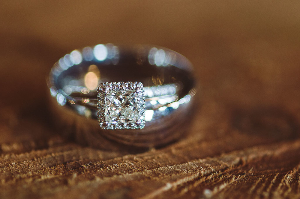 ring shot fayetteville ar wedding photographer