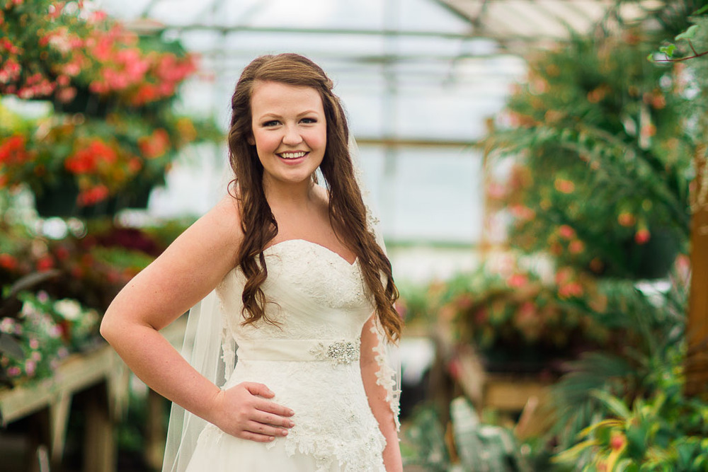 Greenhouse Bridal Session - What to do when it rains during your wedding - fayetteville ar wedding photographer