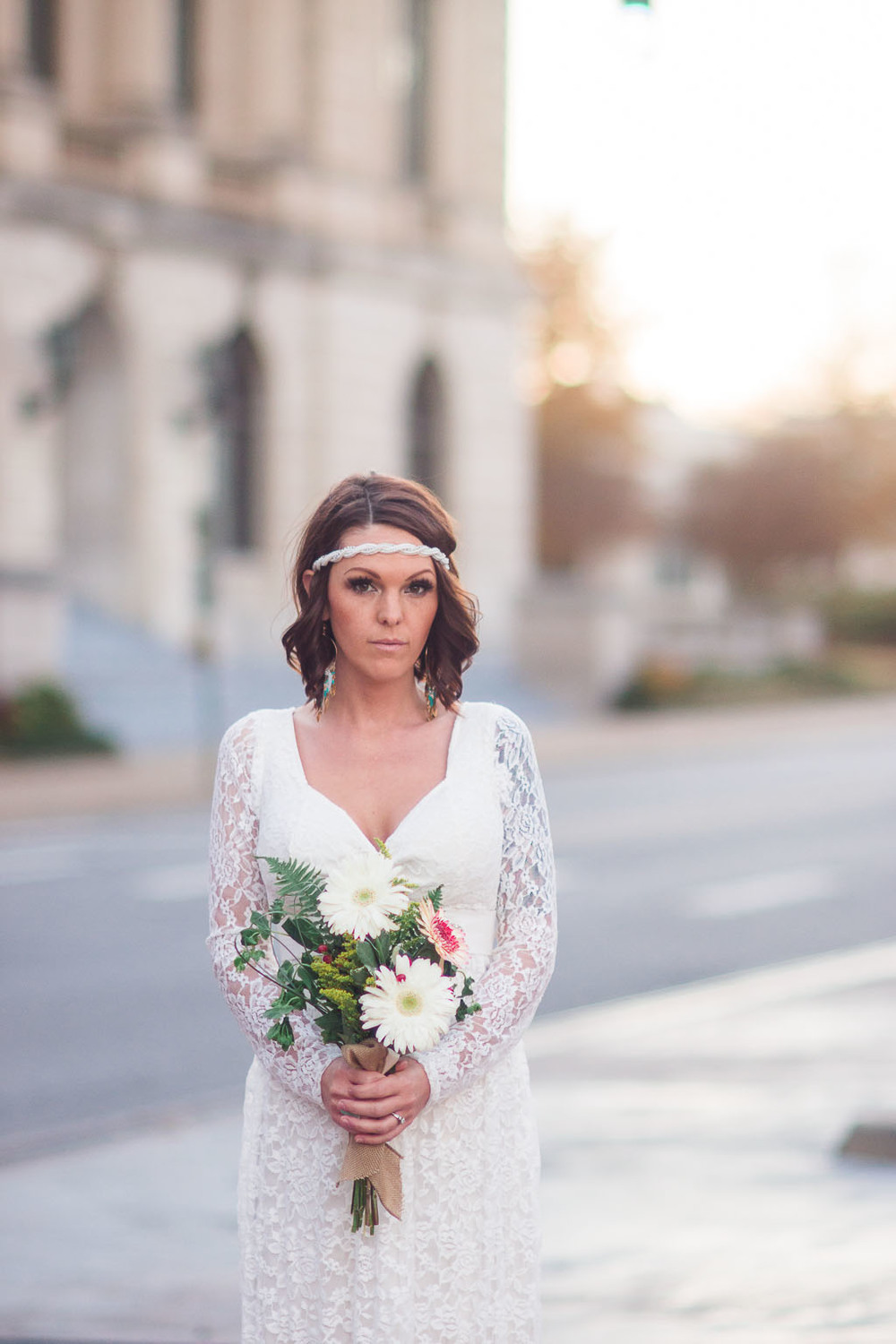 Downtown Little Rock Bridal Session fayetteville ar wedding photographer