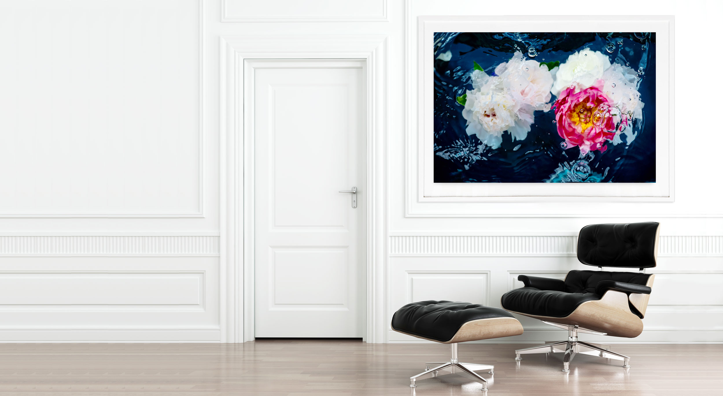 Abstract Flower Art No. 21: Peony Print — Jessica Kenyon Studio