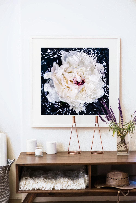 Floral Peony Wall Art © Jessica Kenyon Studio