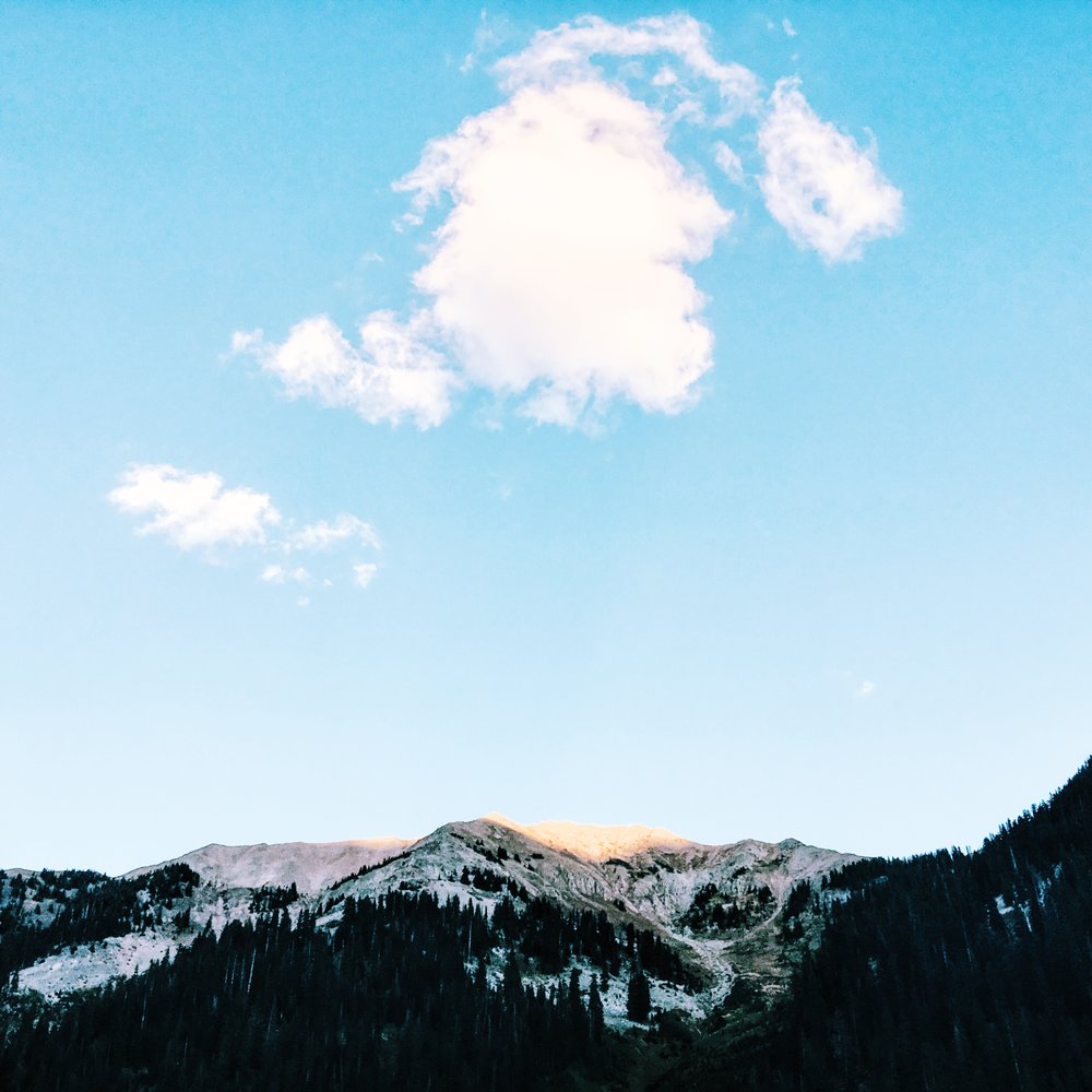 Photograph of San Juan mountains in Colorado by Jessica Kenyon