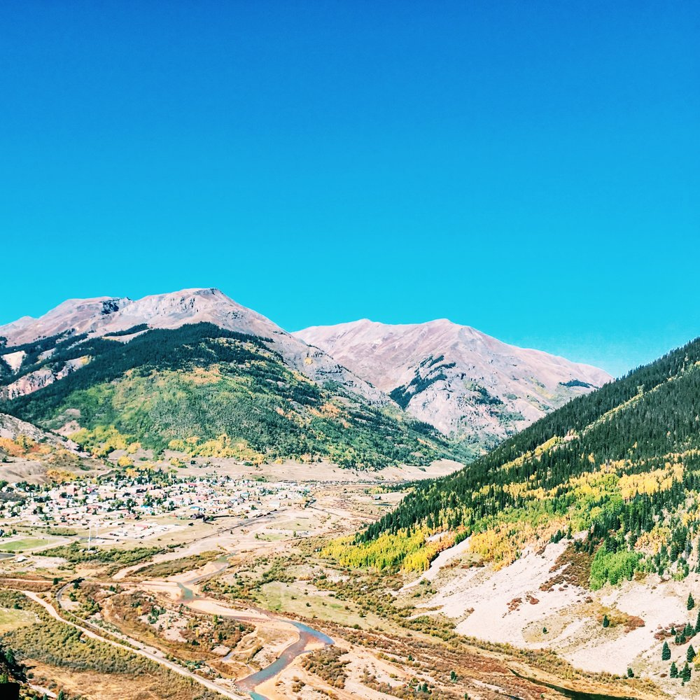View of Silverton, CO by Jessica Kenyon Studio