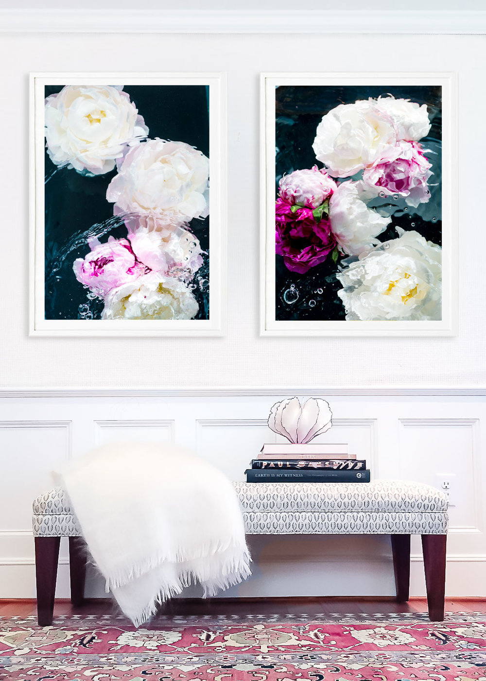 Valentine Diptych by Jessica Kenyon Studio, shown in Framebridge