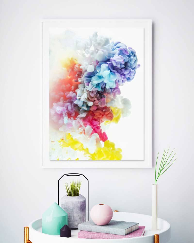 Cloud 9 Art Print by Jessica Kenyon