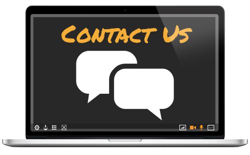 Want a more traditional form of contact? Call or email us.