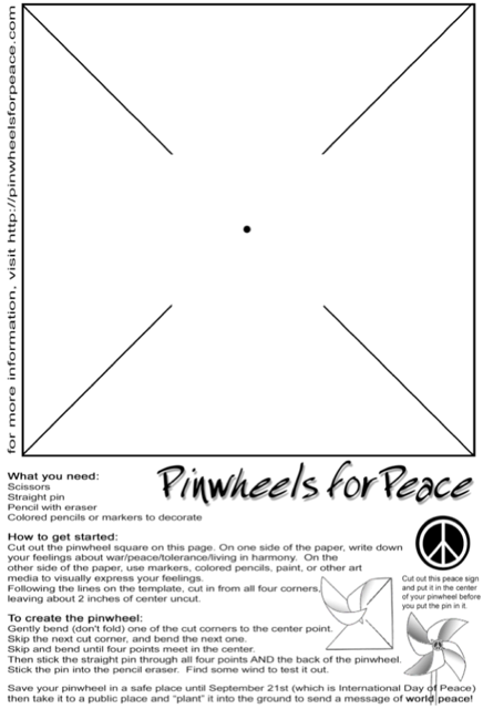 Pinwheels In Susiya Rebuilding Alliance